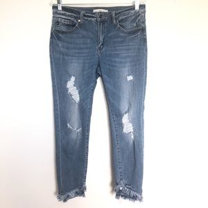 Kancan Destrayed Denim Jeans Size 13/30
